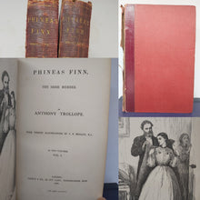 Load image into Gallery viewer, Phineas Finn, The Irish Member, 1869. 1st Edition