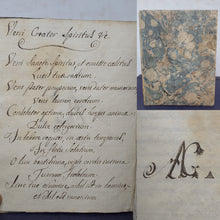 Load image into Gallery viewer, A Manuscript Copy of Veni Creator Spiritus and Papal Commentaries, 1796