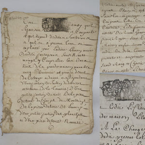 17th Century Manuscript, February 25th 1699