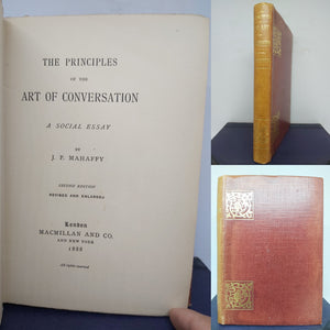 The principles of the art of conversation: a social essay, 1888