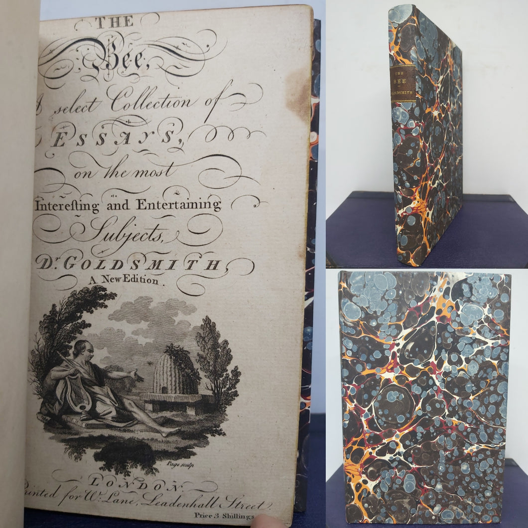 The Bee, a select collection of essays, on the most interesting and entertaining subjects, 1790