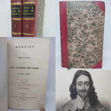 Load image into Gallery viewer, Memoirs of the court of King Charles the First, 1833