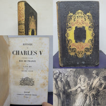 Load image into Gallery viewer, Histoire de Charles V, 1854