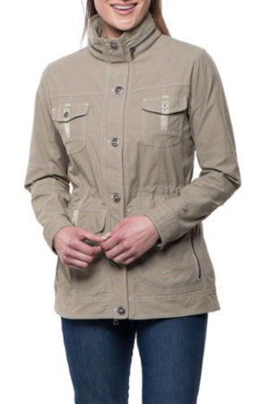 Rekon Lined Khaki Jacket