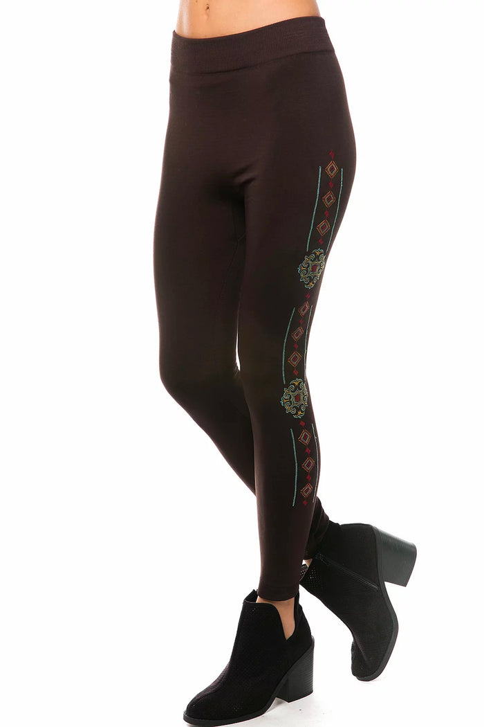 Marla Embroidered Legging
