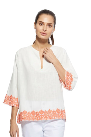 Jan Embroidered Top