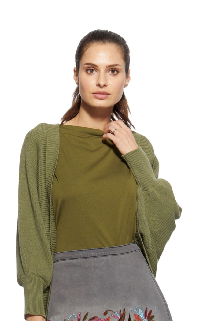 Carrie Cardigan Olive
