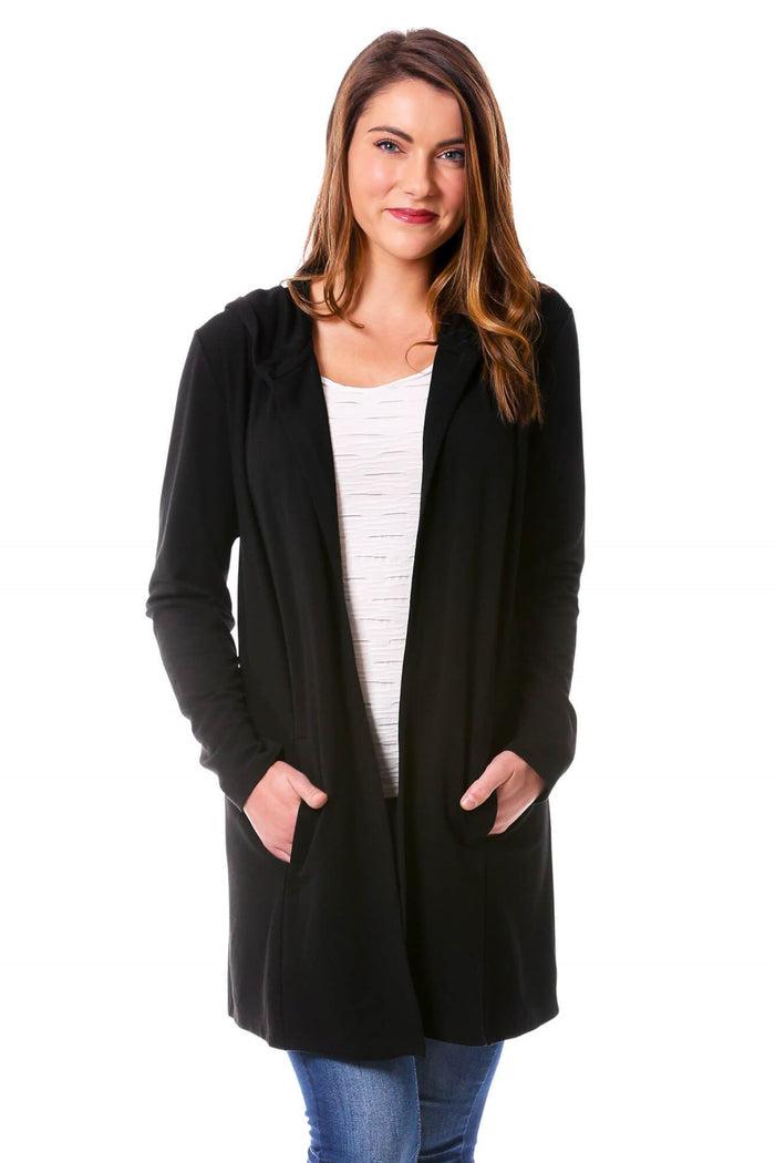 Duster Jacket with Hood