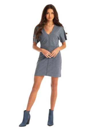 Jax Zipper Front Dress