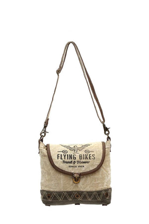 Flying Bikes Crossbody Bag