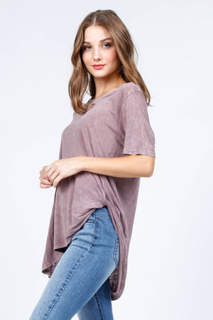 Relaxed Fit Twisted Tunic
