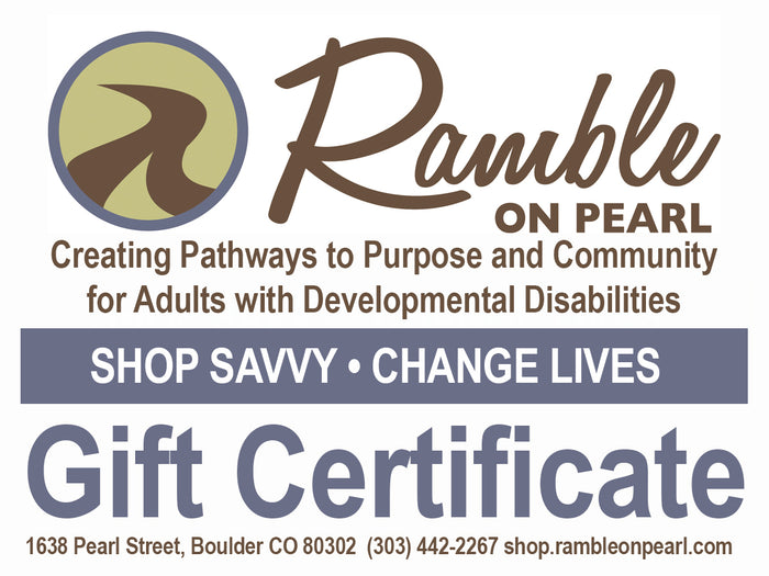 Ramble on Pearl  - Gift Cards $25 - $200