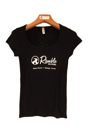 Ramble Logo Women's Scoop Neck Tee