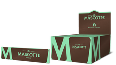 Mascotte Brown Slim Size (with magnet)- 34 vloei