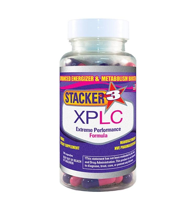 NVE Stacker - Stacker 3 XPLC (100 capsules)