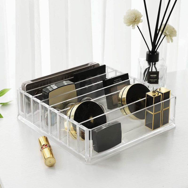 Nancy's Make Up Organizer - 7 Verstelbare planken - Transparant - 23,5 x 24,5 x 7 cm