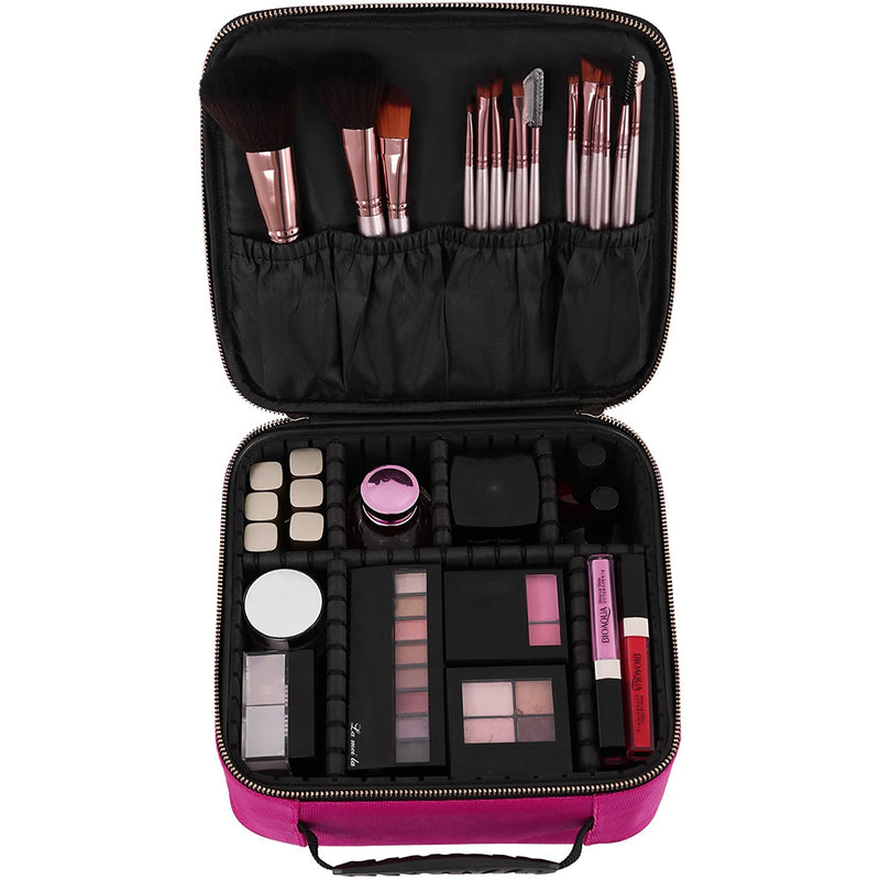 Nancy's Make-up Koffer Roze - Beautycase Dames - Beautycases