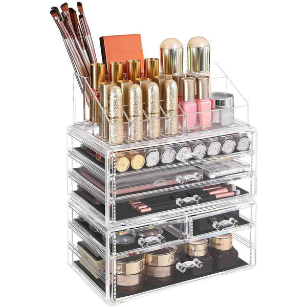 Nancy's Make-Up Organizer - Transparant - Opbergruimte - Make Up Organizer