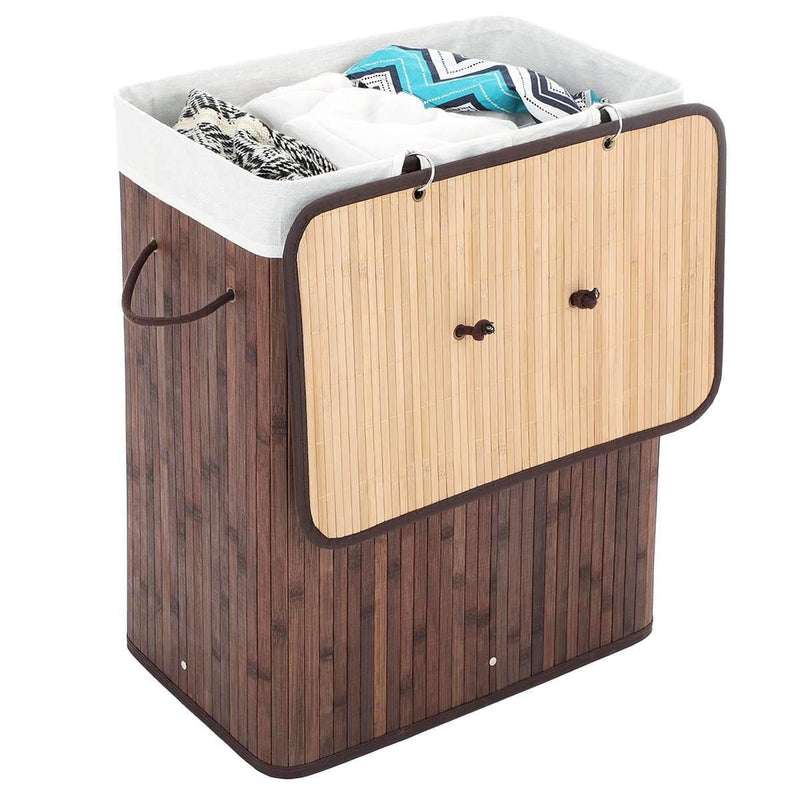 Nancy's Bamboe Wasmand - Wassorteerder - 100L - Nancy HomeStore
