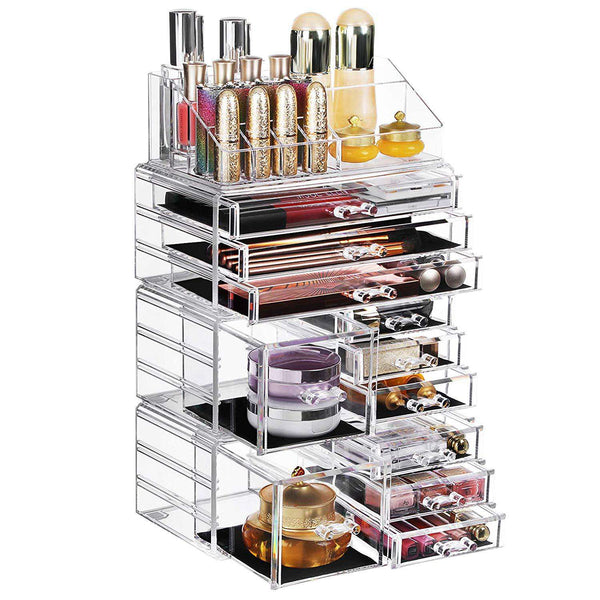 Nancy's make-up organizer - Cosmetica organizers - Opbergdoos - 4 losse delen