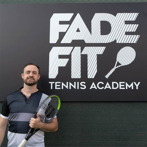 Tennis Director and Coach Stephen Melia | FADE FIT TENNIS ACADEMY