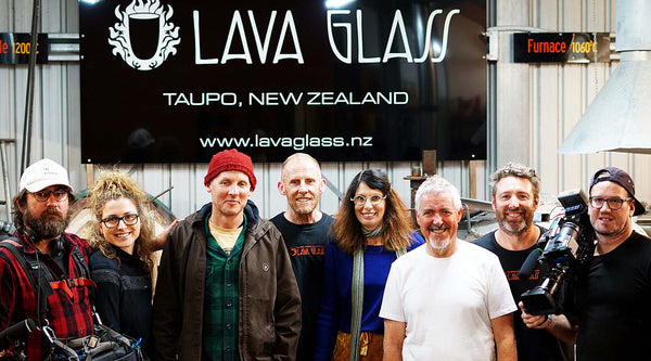 'Griff's Great Kiwi Road Trip' at Lava Glass