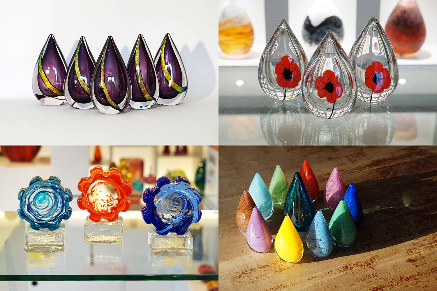 Corporate Gifts Lava Glass