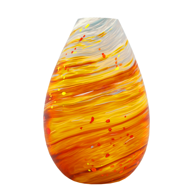 Autumn Teardrop Medium