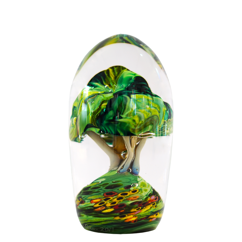 Forest Tree Paperweight