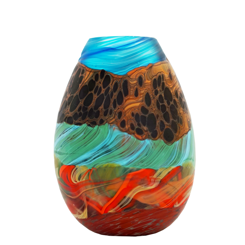 Rainbow Mountain Teardrop Small