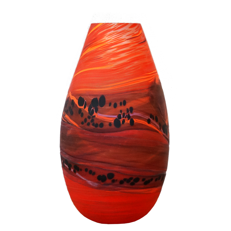 Taupo Sunset Teardrop Medium