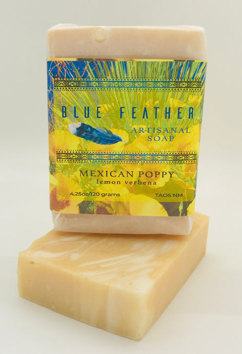 Mexican Poppy Handmade Soap
