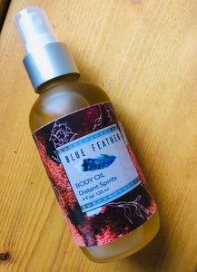 Scented body oil 4 fl ounces