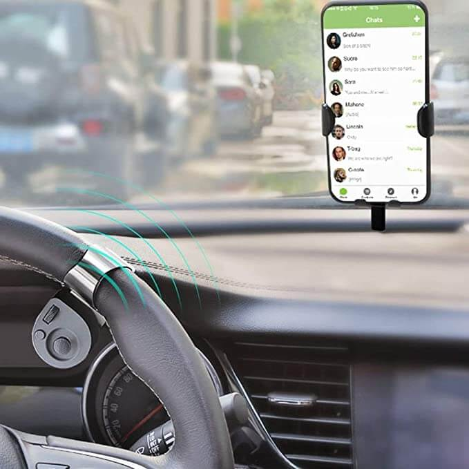 Portable car wireless mobile phone controller - Houzland