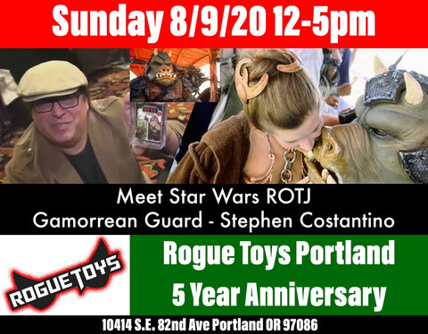 Rogue Toys Portland 5 year anniversary meet Stephen Costantino