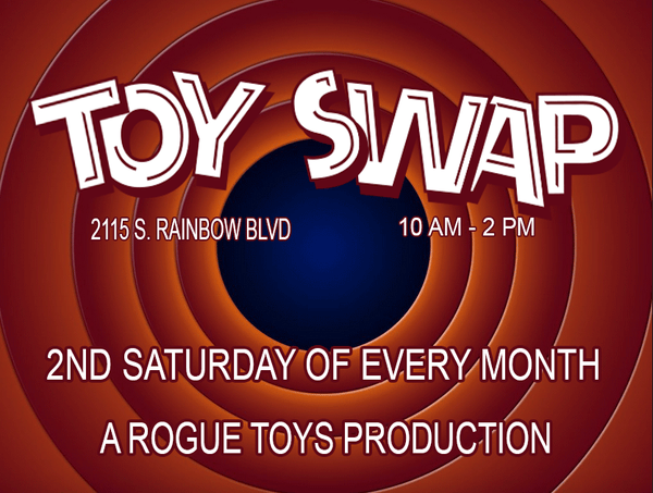ROGUE TOYS TOY SWAP Pawn Stars Expert