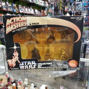 Kenner Star Wars Action Masters Die Cast Metal Collectibles 6 pack