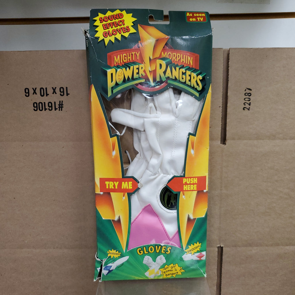Mighty Morphin Power Rangers Pink Ranger Gloves