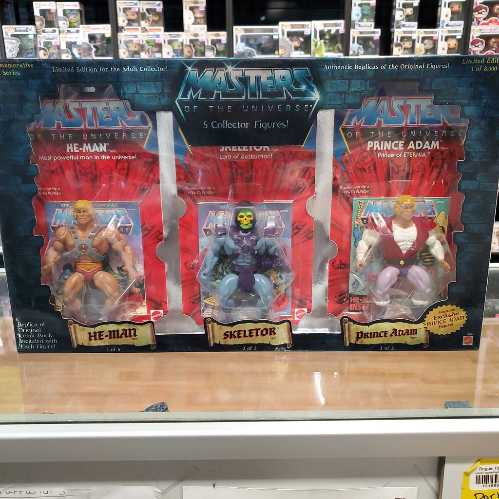 MASTERS OF THE UNIVERSE 5 PACK COMMEMORATIVE SET