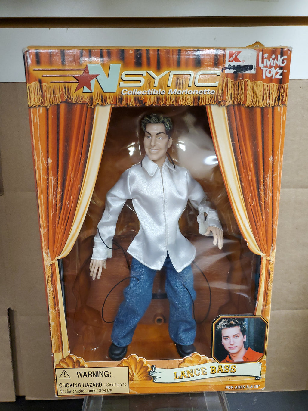 Living Toyz Nsync Collectible Marionette Lance Bass