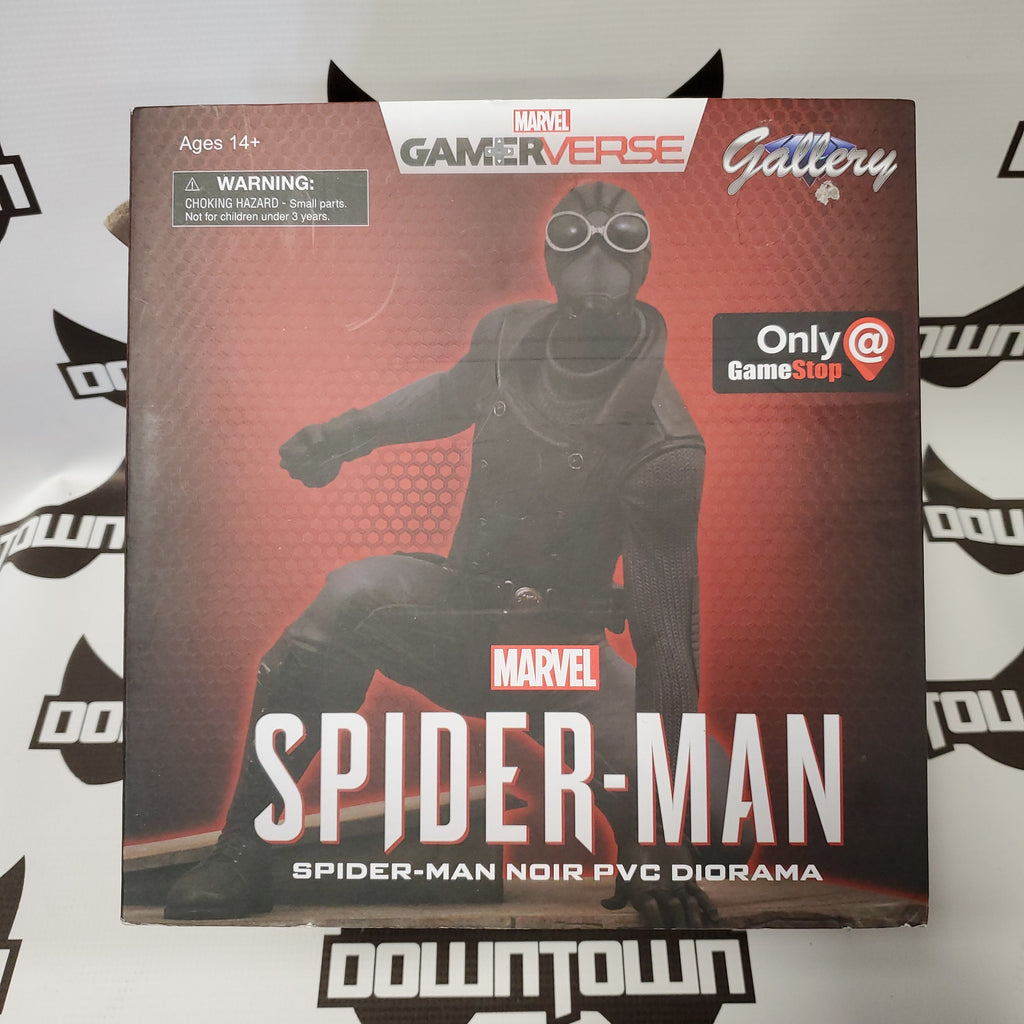 MARVEL GALLERY SPIDER-MAN NOIR STATUE (GAME STOP EXCLUSIVE)