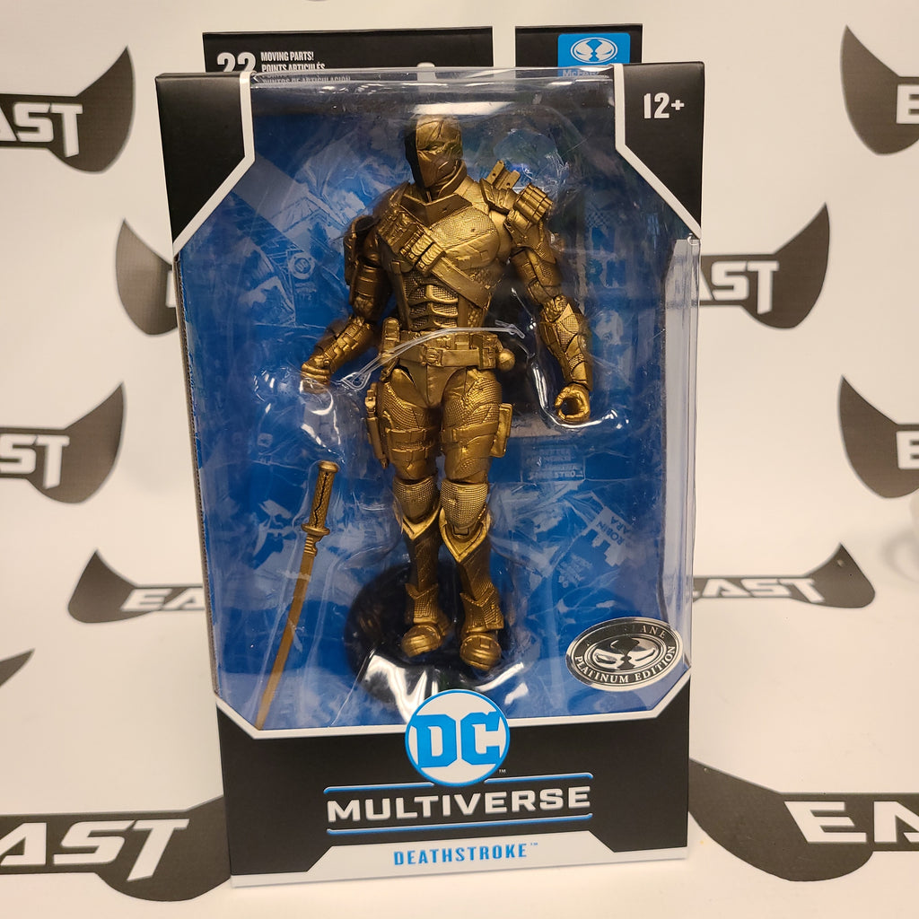 Mc Farlane DC Multiverse Deathstroke Platinum Edition
