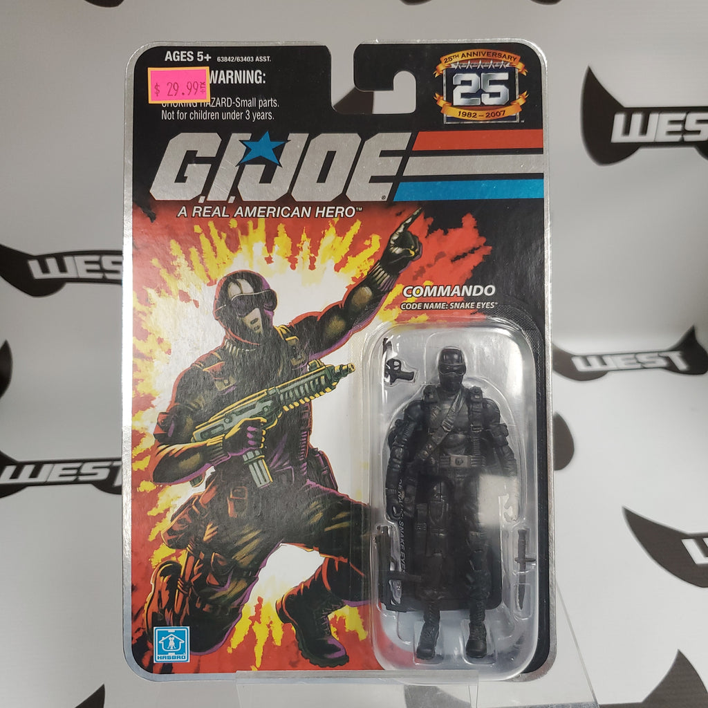 Hasbro G.I. Joe 25th Anniversary Snake Eyes