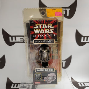 Art Asylum Star Wars Episode 1 Battle Droid Die-Cast Watch