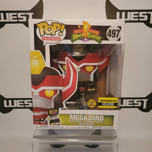 Funko Pop Television Mighty Morphin Power Rangers MegaZord 497 Entertainment Earth Exclusive