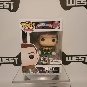 Funko Pop Television Saban's Power Rangers Tommy 669 Galactic Toys Exclusive