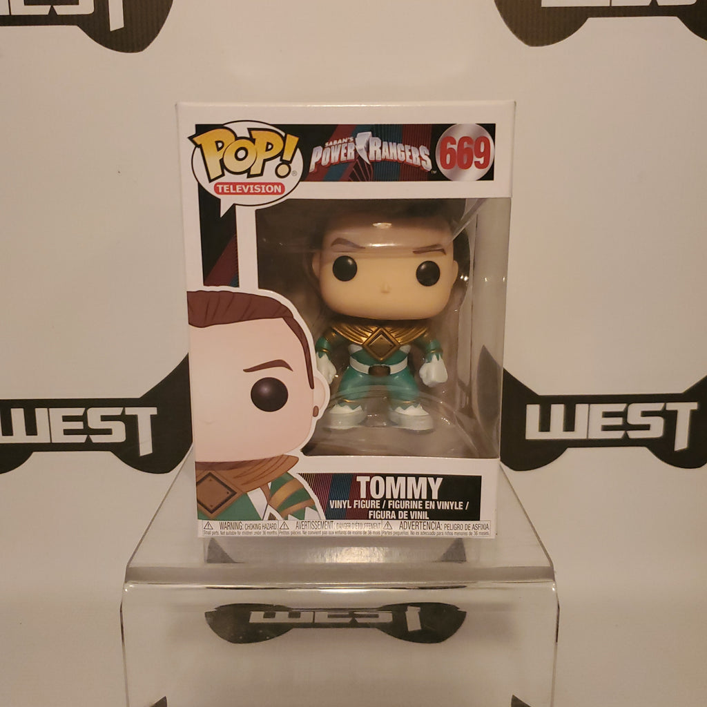 Funko Pop Television Saban's Power Rangers Tommy 669