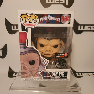 Funko Pop Television Saban's Power Rangers Pudgy Pig 664 Game Stop Exclusive