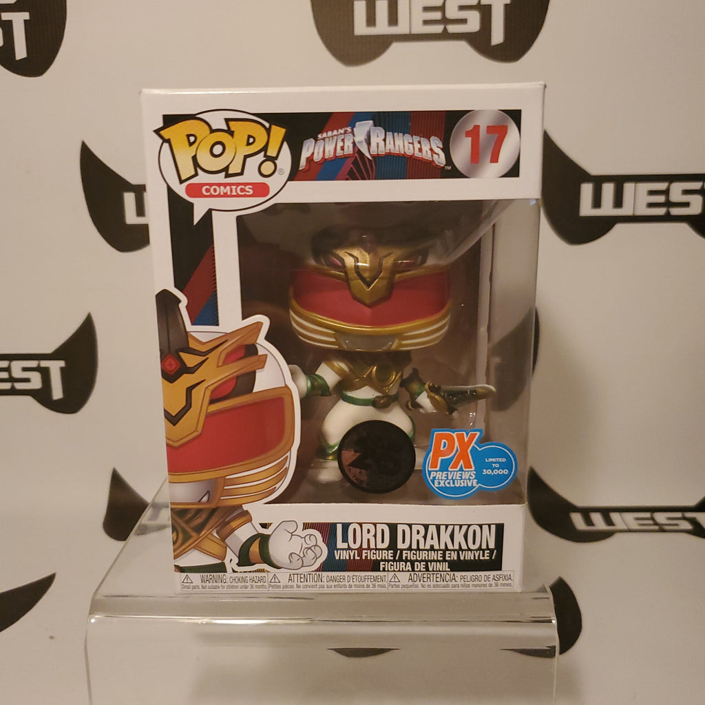 Funko Pop Television Saban's Power Rangers Lord Drakkon 17 PX Previews Exclusive