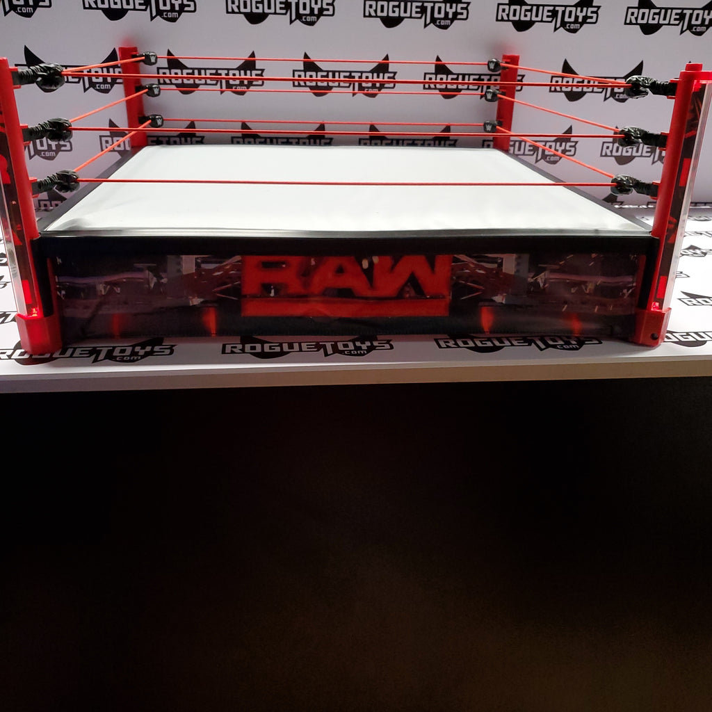 MATTEL WWE ELITE COLLECTION- RAW MAIN EVENT RING